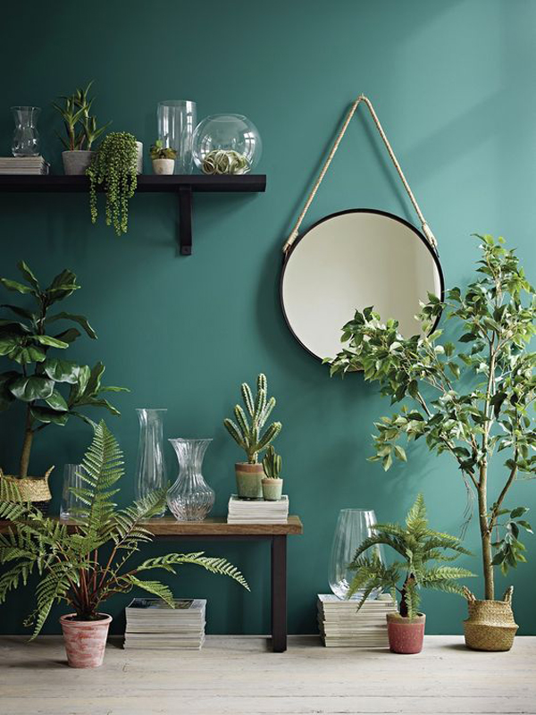 Easy Ways To Use Green Color In Interior Trends Homemydesign
