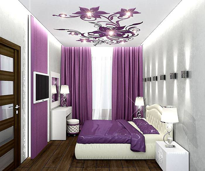 спальня 9 квм реальный дизайн фото 6