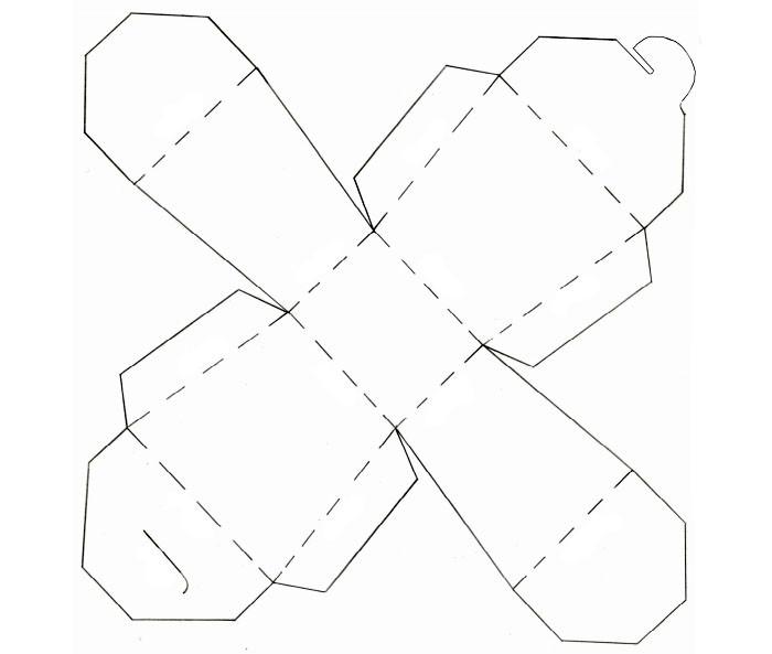 Перерисовываем или распечатываем шаблон