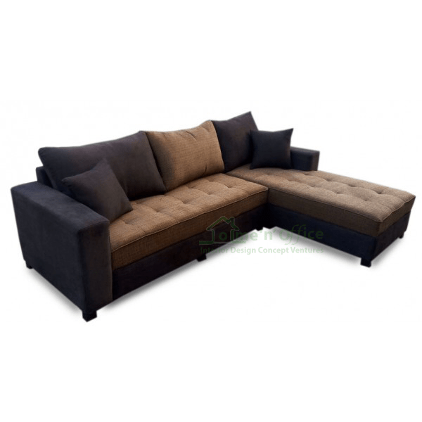 patricia l shaped sofa brown home n