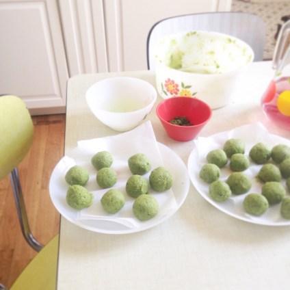 boulettes falafel feve fraiche