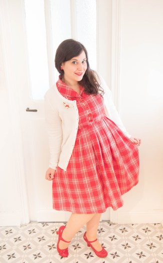 Claudine-Red-Check-Swing-Dress-lindy-bop