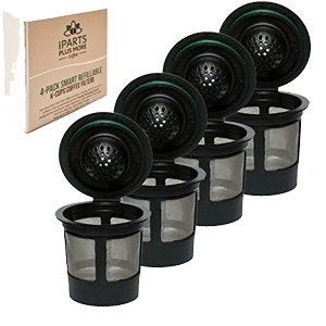 4-Reusable-Single-K-Cup-Solo-Filter-Pod-Coffee-Stainless-Mesh-for-Keurig-Brewers