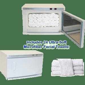 High Capacity Hot Towel U0026 UV Sterilizer Cabinet
