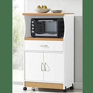 Hodedah Microwave Stand, Multiple Colors