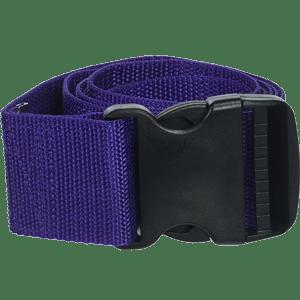 Prestige-Medical-Nylon-Gait-Transfer-Belt-with-Plastic-Buckle,-Purple