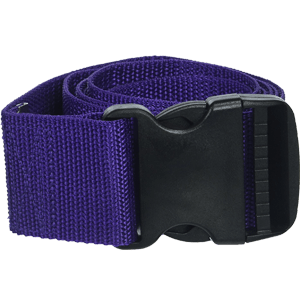 Prestige-Medical-Nylon-Gait-Transfer-Belt-with-Plastic-Buckle,-Purple