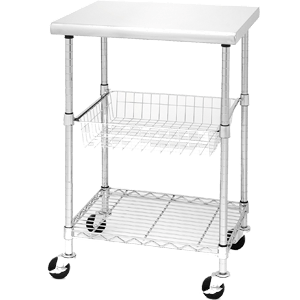 Seville-Classics-Stainless-Steel-Professional-Kitchen-Cart-Cutting-Table