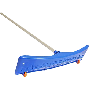 SnowRake-Deluxe-20-ft.-Aluminum-Handle-Roof-Rake-with-Wide-Rake-and-Wheels