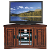 Leick-Riley-Holliday-Mission-Corner-TV-Stand-with-Storage,-46-Inch,-Oak