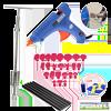 Paintless-Dent-Repair-Tools-Kit-Grip-PRO-Slide-Hammer-with-24pcs-Dent