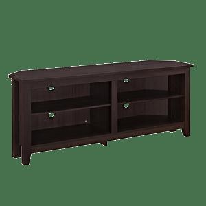 WE-Furniture-58-Wood-Corner-TV-Stand-Console-Espresso