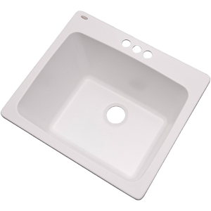 Dekor-Sinks-42300NSC-Westworth-Composite-Utility-Sink-with-Three-Holes