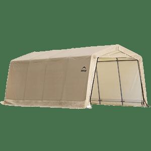ShelterLogic-Peak-Style-AutoShelter-Sandstone