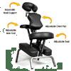 Ataraxia Deluxe Portable Folding Massage Chair