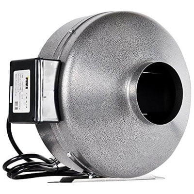 "Ipower 6"" 442 CFM inline duct ventilation fan"