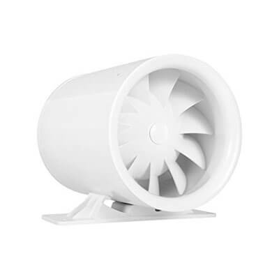 "4""Silent inline duct booster fan, 47 CFM"