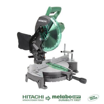 "Hitachi C10FCG 15-Amp 10"" Single Bevel"