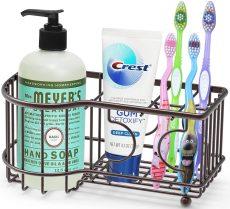 Simple Houseware Multi-Functional 6 Slots Toothbrush Holder