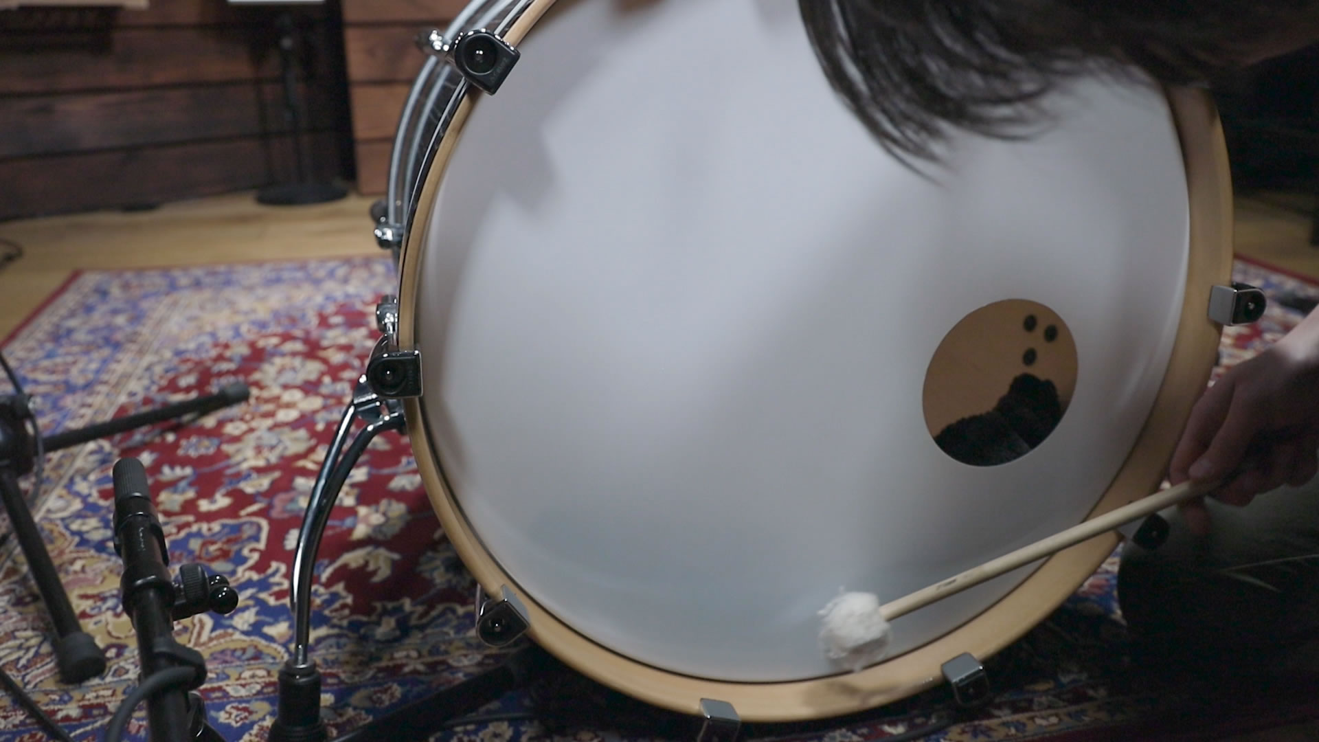 bass drum sounds home of drums