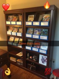 comic books organized