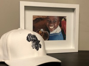homeofhope home of hope hat white logo merch product merchandise donate donation sponsor sponsorship help donations child health cards healthcard feeding program