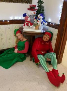 Kaela and Cindy Elves