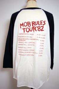 Home of Metal  Black Sabbath 1982 tour tshirt