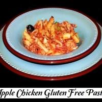 Apple Chicken Gluten Free Pasta