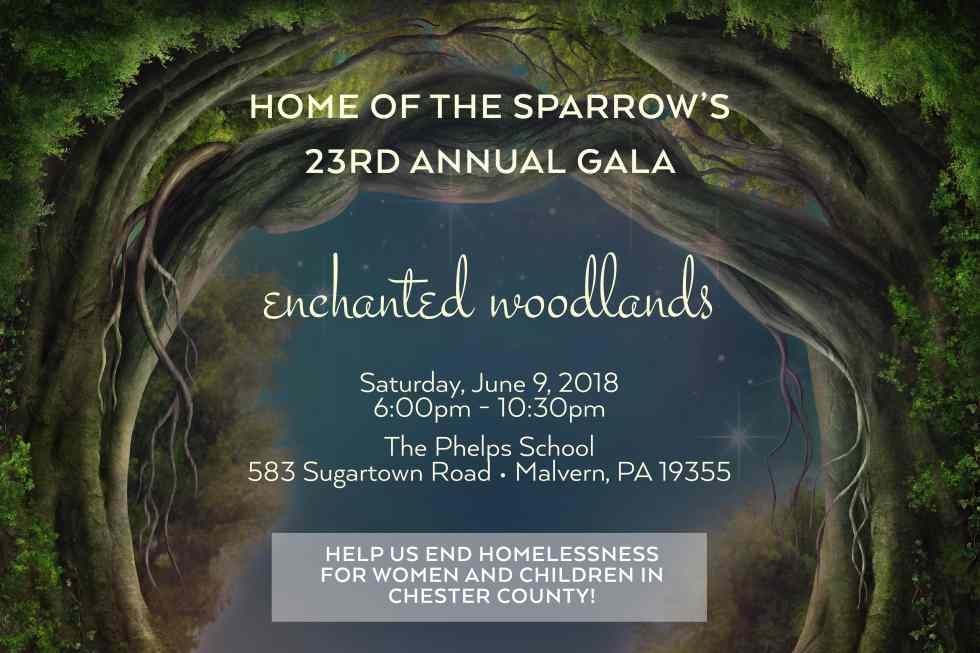 Home Of The Sparrow's 23rd Annual Gala – Enchanted Woodlands