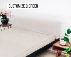 headboard cushion wall pillow archives