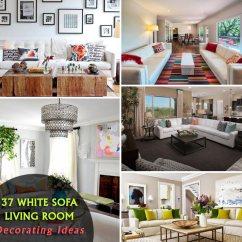 White Couches Living Room Entertainment Center Designs 37 Elegant Sofa Decorating Ideas Homeoholic