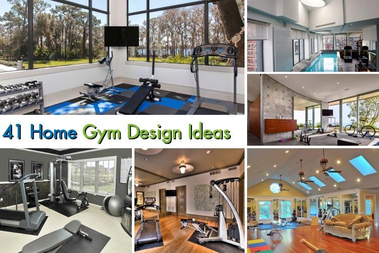 41 Amazing Home Gym Design Ideas 2018  Homeoholic
