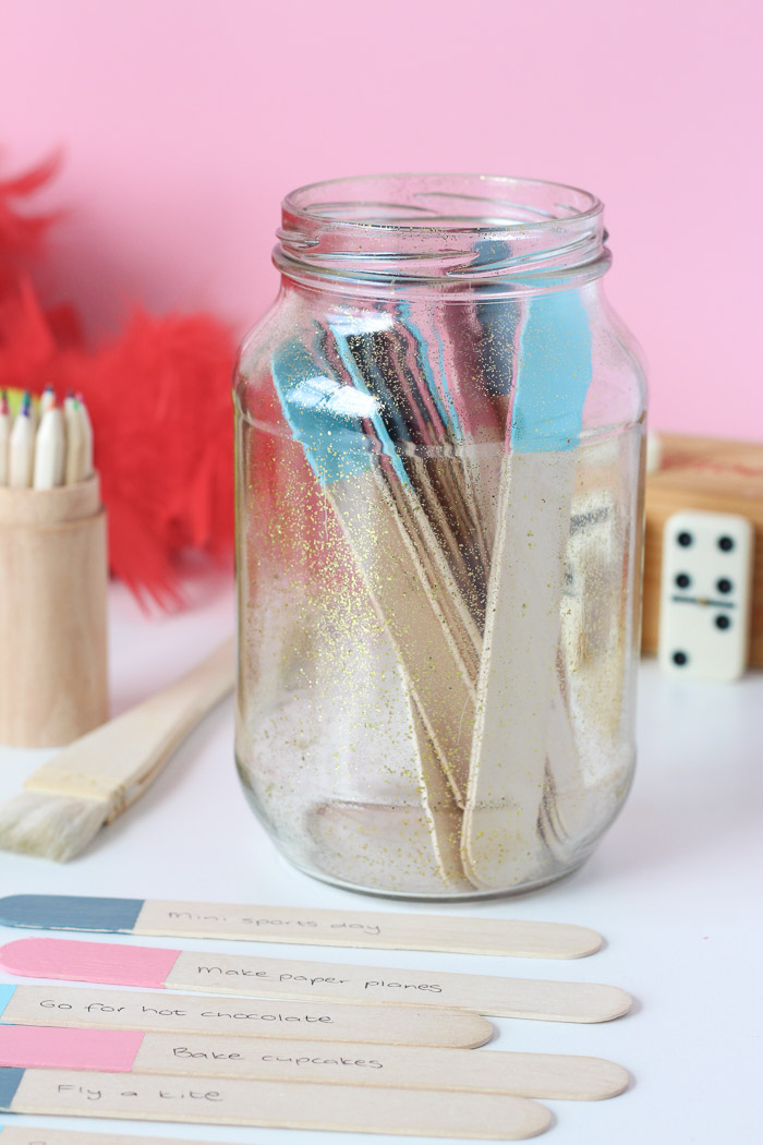 Winter Ideas Jar for Children