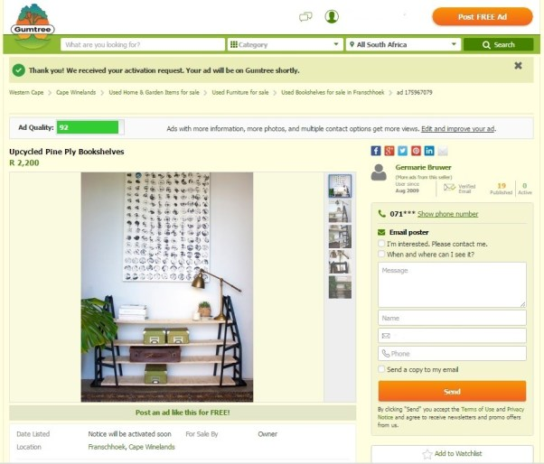 gumtree upcycle challenge