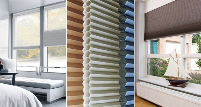 Keep Warm with Honeycomb Blinds