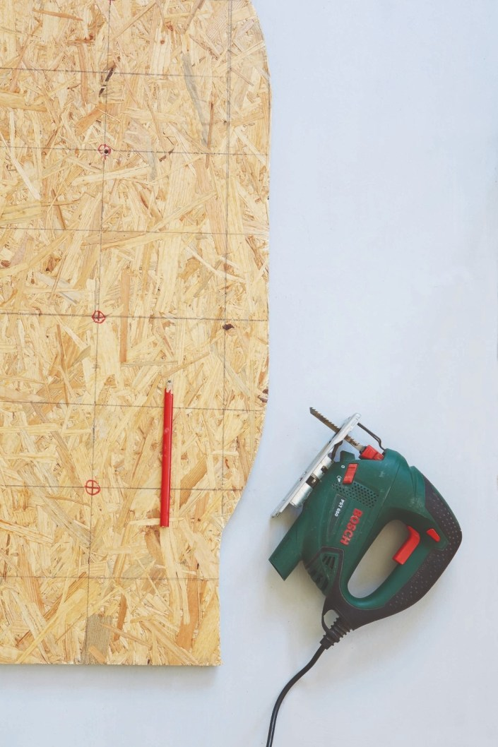 chipboard and jigsaw
