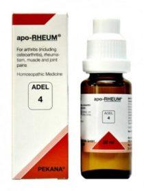Adel 4 apo RHEUM homeopathic medicine for arthritis, osteoarthritis, muscle pain, joint pain