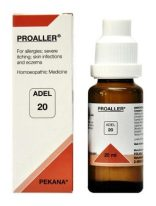 ADEL 20 Proaller homeopathic drops for allergies, severe itching, skin infections, eczema