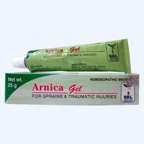 SBL Arnica Homeopathy Gel for Sprains, Traumatic injuries