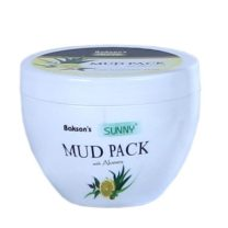 Bakson MUD PACK, Multani Mitti with aloevera, calendula, lemon & tulsi