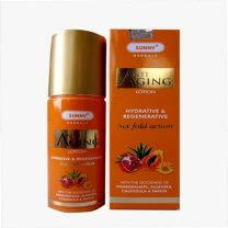 Bakson Sunny Anti Aging lotion- 6 fold action, Skin lotion contains Calendula, Papaya, Aloevera