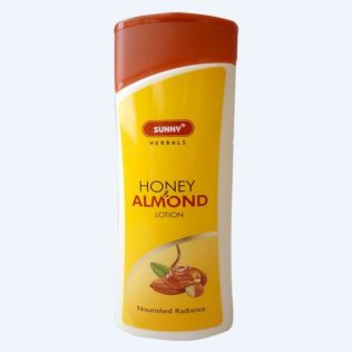Bakson Sunny Herbal Honey and Almond skin lotion for nourished radiance