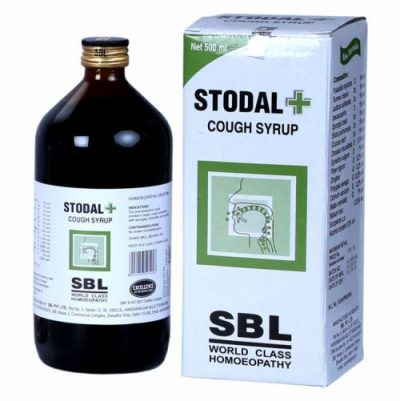 Homeopathy Stodal Cough Syrup for Dry, Wet cough