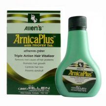 Allen Arnica plus with triofer, Triple action hair vitalizer Oil, for hair growth, hair loss Dandruff