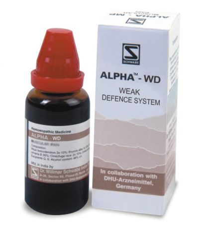Schwabe Alpha-WD dropsfor hypersensitivity to allergens. Homeopathic allergy care