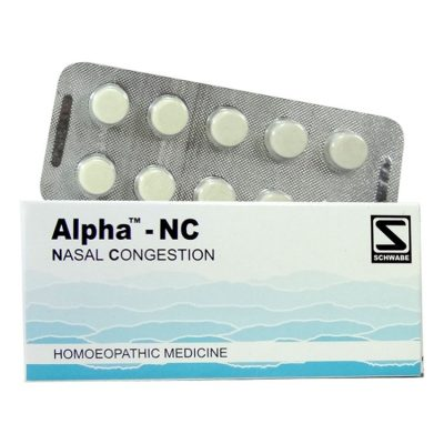 Schwabe Alpha-NC Tablets for Nasal Congestion