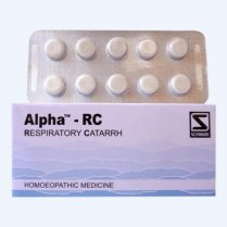 Schwabe Alpha-RC Tablets for Respiratory Catarrh, breathing problems