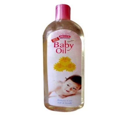Wheezal Calendula Baby Oil for general nourishment and maintenance of baby's skin