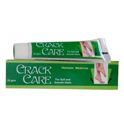 Allen Crack Care Cream for Soft and Smooth Heels, Homeopathy remedy for cracked heels